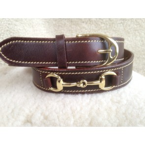 Pampas Leather Bit Belt