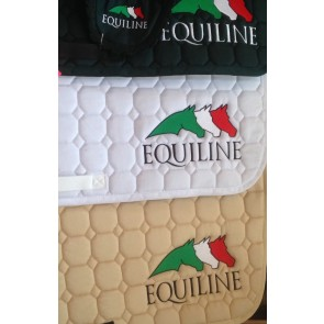 Equiline Octagon Saddle Pad with 3 Horse logo