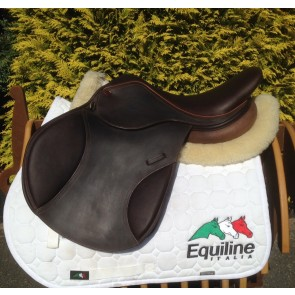 Bertoni Leather Jumping / G.P. Saddle