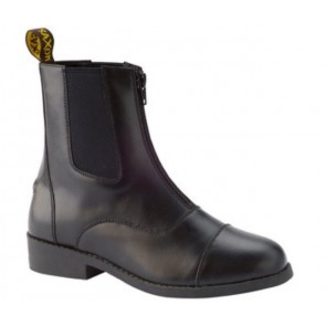 Saxon Equileather Zip Paddock Boot