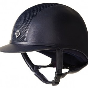 Charles Owen Ayr8 Leather Look Riding Helmet